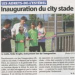 inauguration du city stade