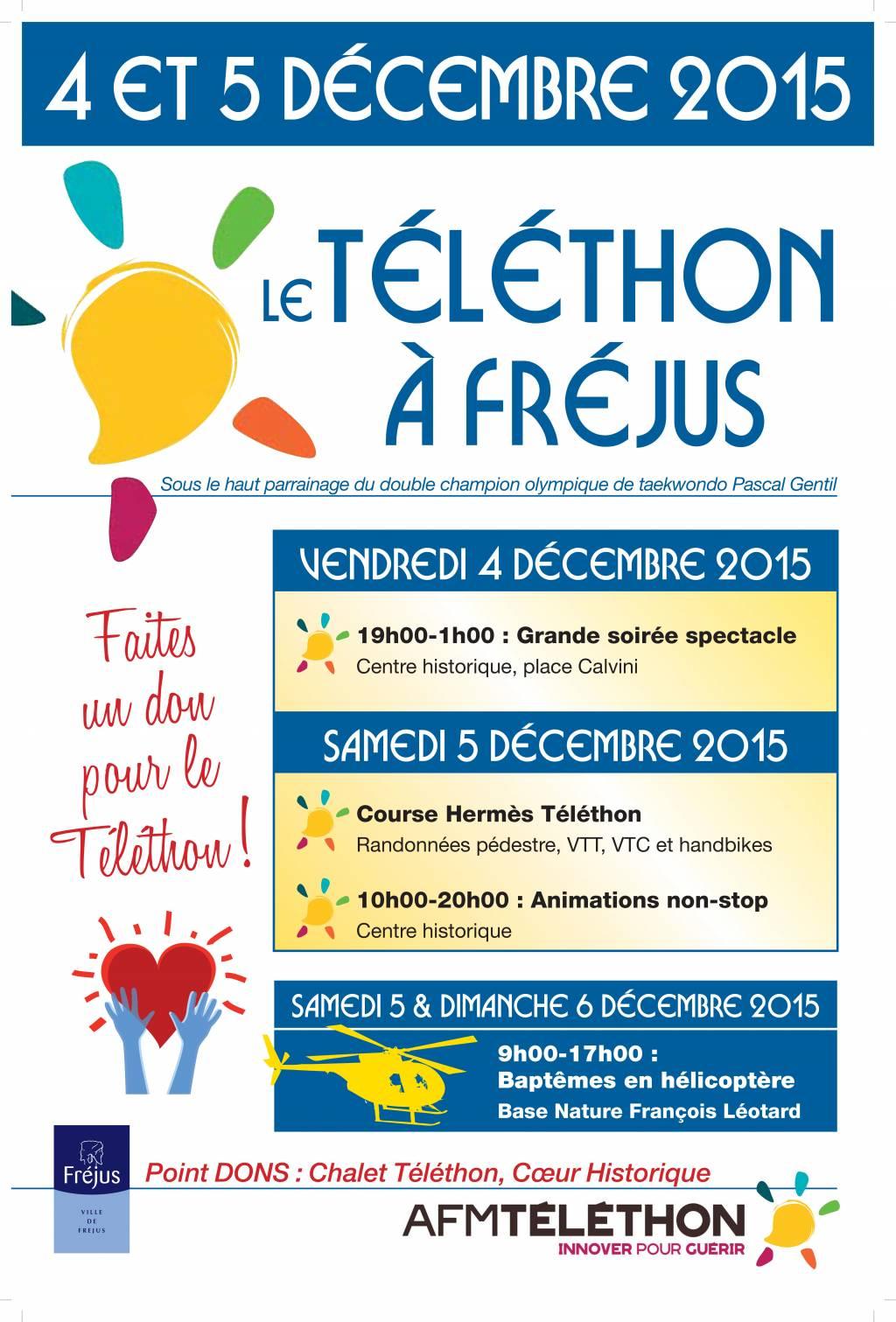 Téléthon 2015 Affiche 400X600mm.indd