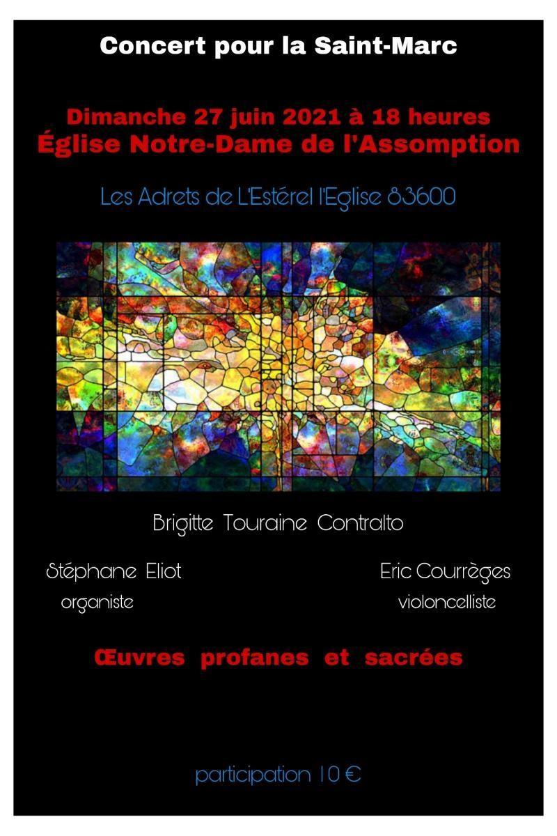 27/06/2021 : Concert pour la St-Marc